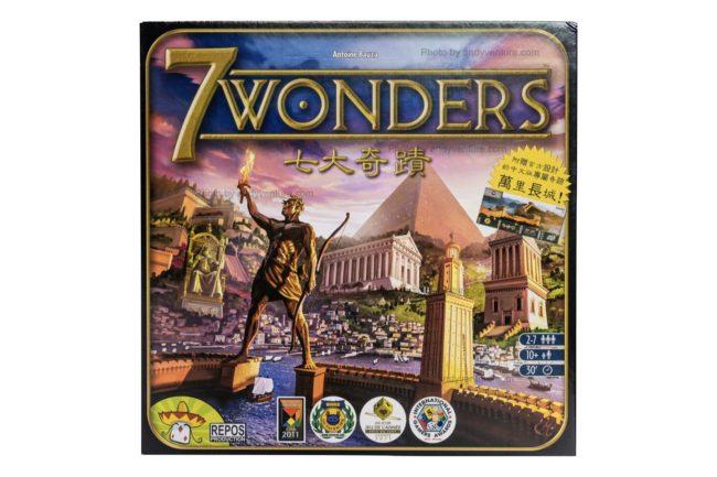 七大奇蹟(7 Wonders)-桌遊版世紀帝國|桌遊規則介紹