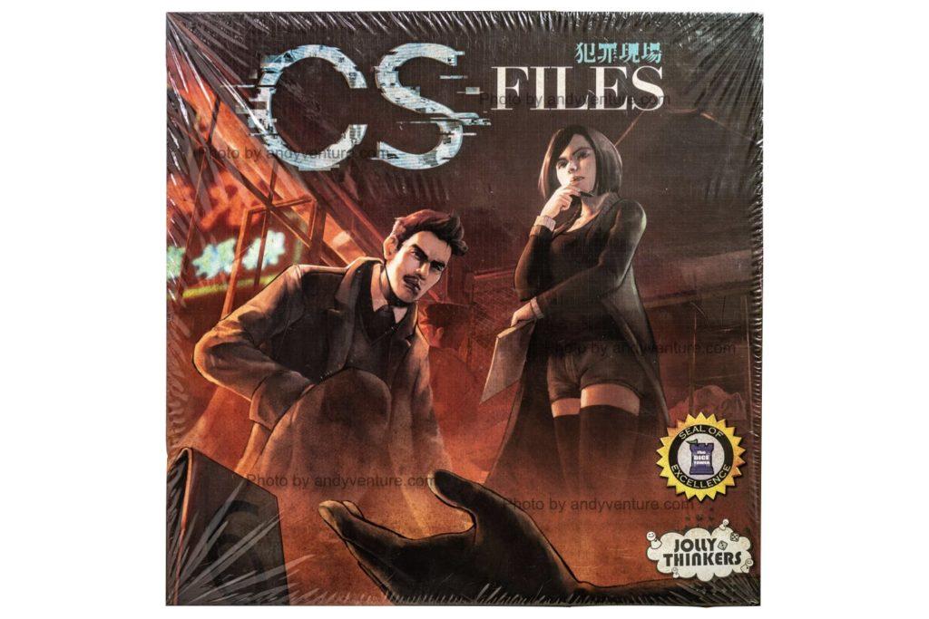 犯罪現場(CS-Files)-適合新手的推理類型派對桌遊|桌遊規則介紹