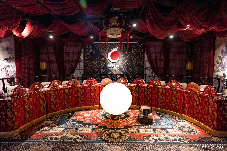宮月城-最專業奢華的狼人殺主題包廂 台北桌遊店 體驗心得