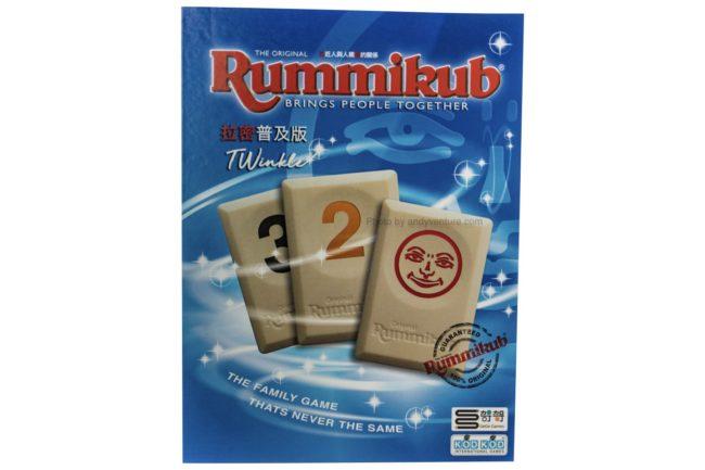 拉密(Rummikub):普及版(基本版)-熱門且經典的以色列麻將|桌遊規則介紹