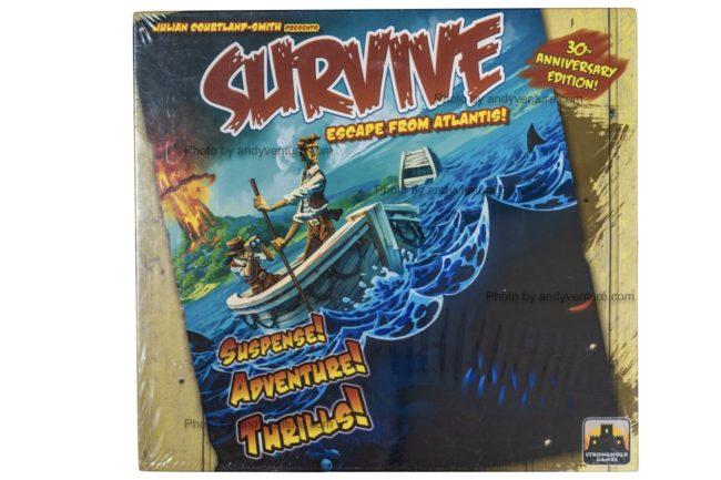 逃離亞特蘭提斯(Survive:Escape from Atlantis!)-在逃離消失的神秘國度時互扯後腿?|桌遊規則介紹