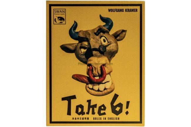 誰是牛頭王(Take 6)-有點不簡單的數字接龍桌遊|桌遊規則介紹