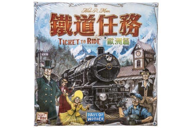 鐵道任務:歐洲篇(Ticket to Ride: Europe)-來去歐洲鐵路之旅|桌遊規則介紹