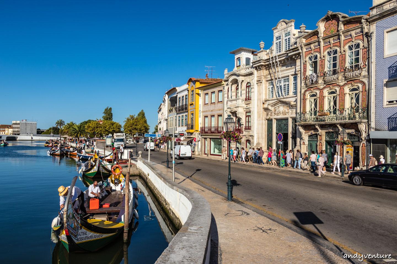 阿威羅彩船和諾瓦彩條屋|Aveiro|葡萄牙租車