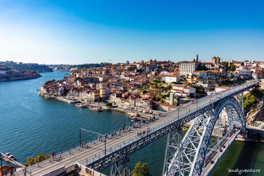 路易一世大橋日景-美麗的杜羅河畔|波多|葡萄牙租車