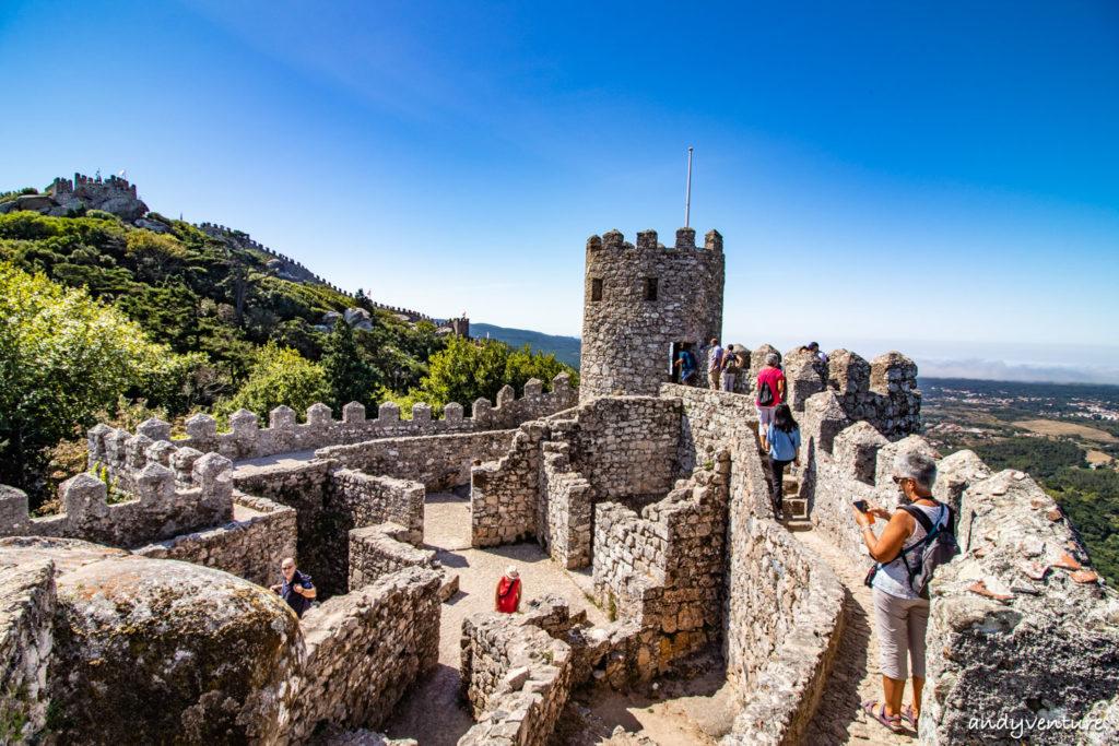 摩爾人城堡-穿梭歷史的戰地遺跡|辛特拉|葡萄牙租車