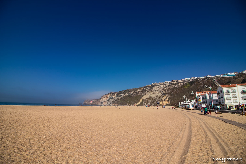 納扎雷海灘-銀色海岸與傳統漁村|Nazare|葡萄牙租車