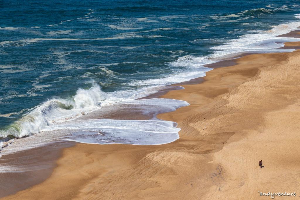 納扎雷燈塔-海岬上看滔天巨浪|Nazare|葡萄牙租車