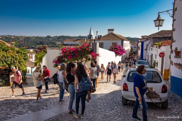 歐比多斯-漫步皇后小鎮,景點和路線|Obidos|葡萄牙租車