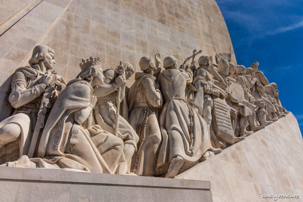 發現者紀念碑-大航海時代的起點|里斯本|葡萄牙租車