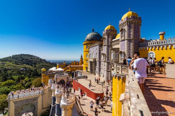 佩納宮-色彩繽紛的奇幻古堡|辛特拉|葡萄牙租車