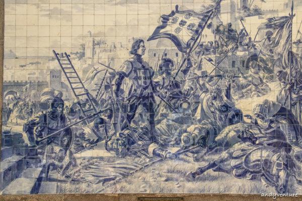 聖本篤車站-世界最美車站和阿茲勒赫瓷磚畫|Porto|葡萄牙租車
