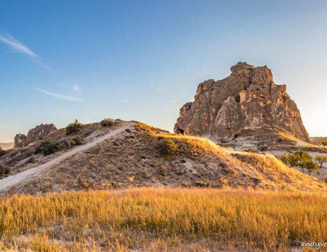 卡帕多奇亞山谷健行-八條路線地圖與玫瑰谷夕陽 卡帕多奇亞Cappadocia 土耳其租車旅遊