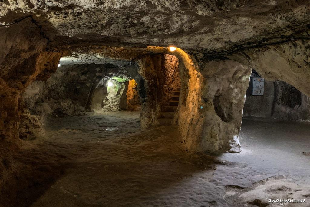 德林克尤地下城-探索足以容納兩萬人的地底城市|Cappadocia|土耳其租車旅遊