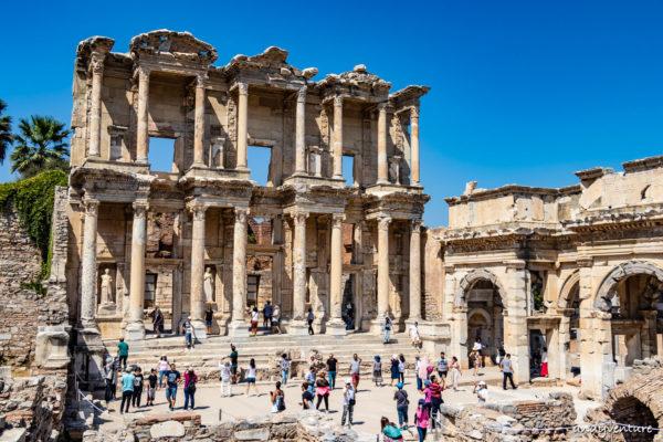 以弗所Ephesus-輝煌的羅馬古都遺址|Izmir|土耳其租車旅遊