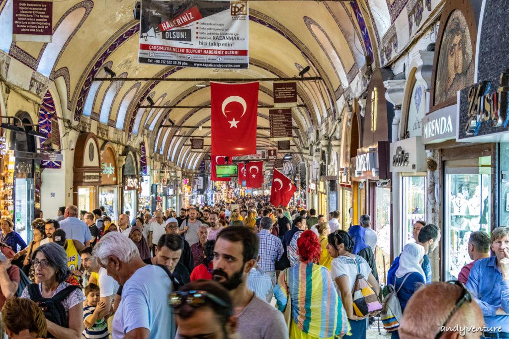 大巴扎/有頂大市集-巨大的鄂圖曼帝國古市集|伊斯坦堡|土耳其租車旅遊