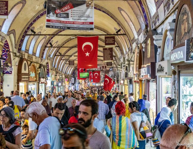 大巴扎/有頂大市集-巨大的鄂圖曼帝國古市集 伊斯坦堡 土耳其租車旅遊