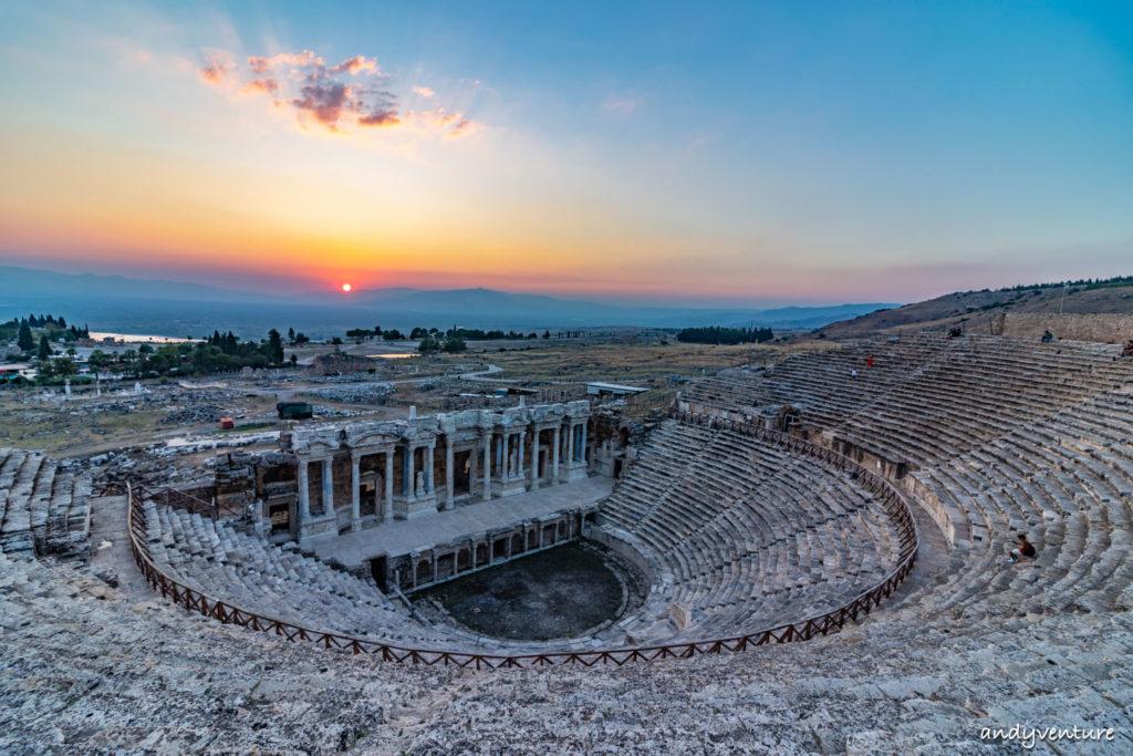 希拉波利斯Hierapolis-古代泳池和大劇場路線|棉花堡|土耳其租車旅遊