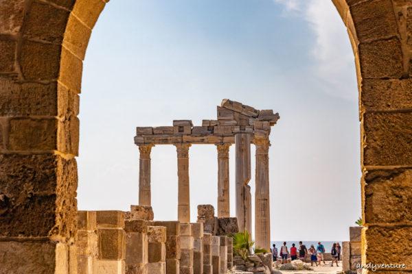 西代Side-希臘式海港小鎮和阿波羅神廟|安塔利亞Antalya|土耳其租車旅遊