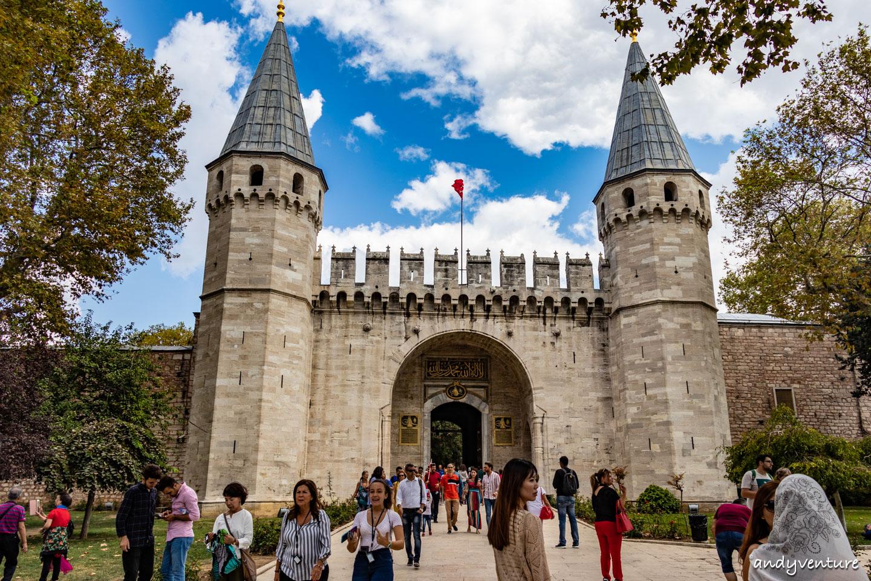 托普卡匹皇宮-鄂圖曼帝國的蘇丹宮殿|伊斯坦堡|土耳其租車旅遊