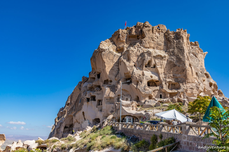 烏奇薩爾城堡Uchisar Castle-古代巨石碉堡|卡帕多奇亞|土耳其租車旅遊